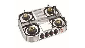 Prestige Cooktop 4 Burner Prestige Royale Dgs 04 Stainless Steel Gas Stoves Price In India