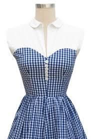 blue gingham shirt dress by bomode on etsy 40 00 vintage dress