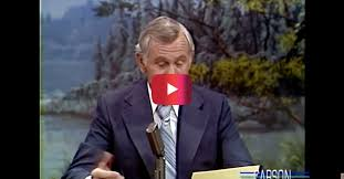 johnny carson reads letters from describing how to cook a