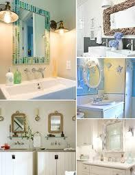 Beachy Bathroom Mirrors Decorative Bathroom Mirrors Coastal Nautical Style Shop The
