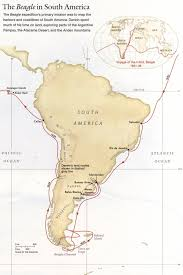 south america map equator darwins south american voyages 1831 36 map south america mappery