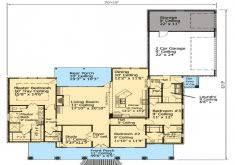 100 french style home plans plan 36239tx 4 car back entry