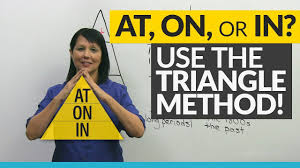 master at on in with the triangle method