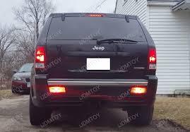 jeep grand cherokee led tail lights 2005 2010 jeep wk1 grand cherokee led rear fog light kit
