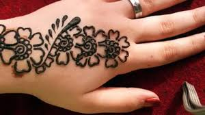 easy henna designs for beginners by by simple