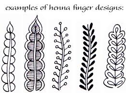 henna hand designs art lesson make a unique self portrait u2014 art