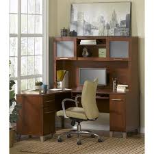 60 Inch L Shaped Desk Bush Somerset 60