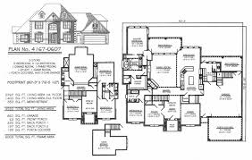 4 bedroom house plans 1 story 5 bedroom 2 story house plans amazing house plans