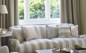 canape tissu rayures broadway tissu fauteuil lavable imprimé large rayure mélangé