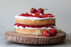 strawberry layer cake the epicurean