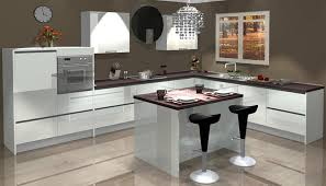 kitchen contemporary computer kitchen design with regard to plan