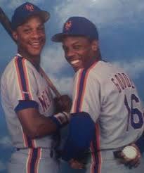 The Doc And Darryl Mets - autographed darryl strawberry mlb baseball inscribed 83 roy new