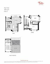 100 tate residences floor plan loha lorcan o u0027herlihy