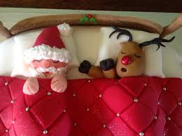 Christmas Cake Decorations Rudolph by 220 Best Christmas Cakes And Bakes Images On Pinterest Christmas