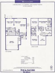 Fox And Jacobs Floor Plans Rivermill Homes