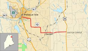 Easton Map Maine State Route 10 Wikipedia
