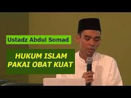 hukumya obat kuat menurut ustadz abdul somad lucu banget