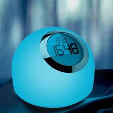 night light alarm clock wake up light alarm clock anstop multicolor night light l alarm