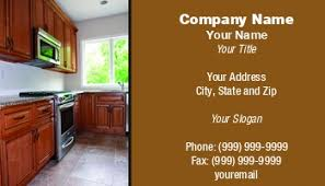 kitchen cabinet design names cabinetry business cards