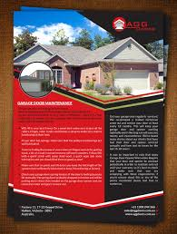 the garage door company wageuzi 16 elegant playful garage flyer designs for a business in