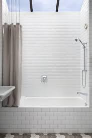 Bathroom Shower Tub Tile Ideas by Best 25 Built In Bathtub Ideas On Pinterest Restroom Ideas