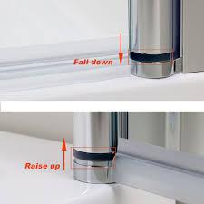 700mm frameless hinged shower door