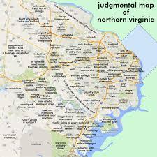 Arlington Va Zip Code Map by Northern Virginia Map With Cities Afputra Com
