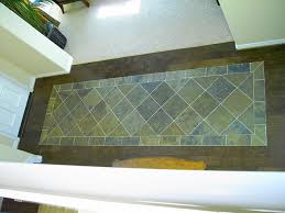 wood with tile floor combination craftsman entry san