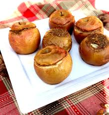 walnut stuffed oven baked apples healthy thanksgiving