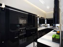 black kitchen cabinets wall color 15429