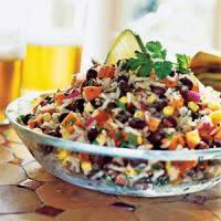 cuisiner haricots rouges salade de riz aux haricots rouges recettes de cuisine mexicaine