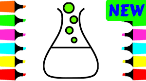coloring pages science experiments for kids how to draw coloring