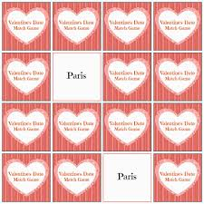 valentine u0027s day date ideas and match game blog hop play party plan