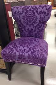 Side Accent Chairs by Love This Purple Chair See The Tag What A Deal U2026 Pinteres U2026