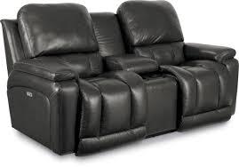 la z boy greyson leather reclining sofa u0026 reviews wayfair