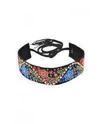 floral belt bohemian floral belt