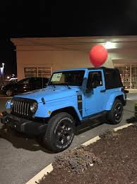 chief jeep wrangler 2017 just spotted a freedom edition in chief blue jeep wrangler forum