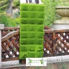 new waterproof planting bag living wall planter vertical herb