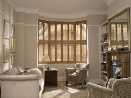 simple design how to dress a square bay window with curtains