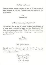 Examples Of Wedding Programs Templates Sample Wedding Program Thank You Jewish Wedding Program