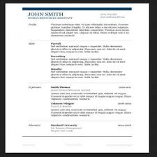 Example Of One Page Resume by Resume Template 81 Breathtaking Free Create A Easy U201a To Download