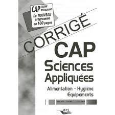 sciences appliqu馥s cap cuisine sciences appliqu馥s cap cuisine 100 images varsha pandit