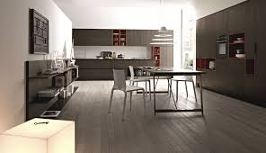 Space For Kitchen Island by Cool White Color Italian Kitchen Design Theme Presenting Ample