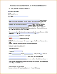 Durable Power Of Attorney Sample by 10 Pennsylvania Power Of Attorney Form Attorney Letterheads