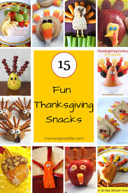 thanksgiving snacks for that are