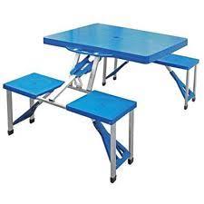 fold out picnic table folding picnic tables ebay