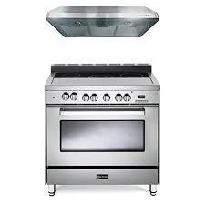 verona appliances dealers verona range 100 kitchen range amazon com verona stainless steel 2 piece kitchen package