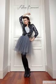 spodnica tiulowa spódnica tiulowa w kolorze gołębim spódnice pakamera pl