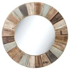 Round Bathroom Mirror With Shelf by Wall Mirror Wood Wall Mirror Oval Wood Framed Wall Mirrors