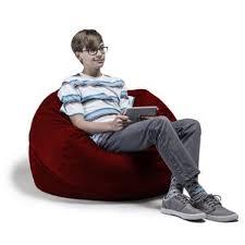 orange bean bag chairs you u0027ll love wayfair